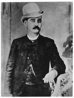 """William Barclay """"Bat"""" Masterson between 1880 and 1890"""