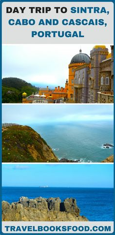 Day Trip To Sintra, Cabo Da Roca and Cascais Portugal | Day Trips from Lisbon Portugal | Solo Female Travel | What to see in a day trip from Lisbon | Places to see in Sintra | Things to do in Sintra, Portugal