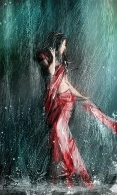 """""""some people feel the rain others get wet"""" #Creative #Art in #fashion @Touchtalent"""