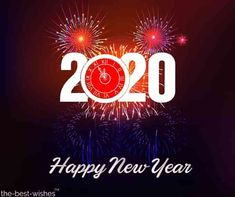 54 Happy New Year 2020 Images. An image that has fireworks a greeting or a cute dog or cat saying happy new year is Happy New Year Photo, Happy New Year Message, Happy New Year 2016, Happy New Year Wishes, Happy New Year Greetings, New Year Greeting Cards, New Year 2020, Holiday Wishes, New Year Wishes Images