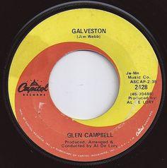 Galveston / Glenn Campbell / #4 on Billboard 1969