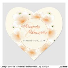 Shop Orange Blossom Flowers Romantic Wedding Favor Classic Round Sticker created by Ruxique. Romantic Wedding Favours, Wedding Favors, Wedding Save The Dates, Blossom Flower, Orange Blossom, Text Color, Round Stickers, Different Shapes, Custom Stickers
