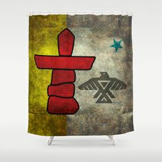 Two Cultures Shower Curtain by Bruce Stanfield - $68.00