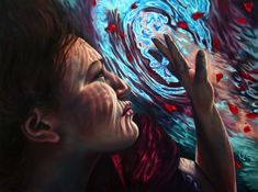 Erika Craig paints extraordinary images of women submerged in water, deep in thought.