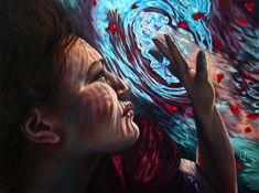Breathtaking Paintings Right Below the Water's Surface - My Modern Met