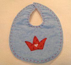 Baby patchwork bib
