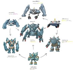 Pokemon Hexafusion by Ragehowl