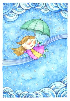 Deszczowa panienka