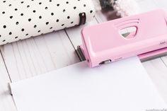 Rapesco 1322 ajustable de 6 Agujeros Organizador//diario Punch Candy Pink Candy Pink