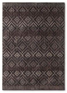 Nate Berkus Gray Abstract Woven Area Rug - (5'X7') - Nate Berkus