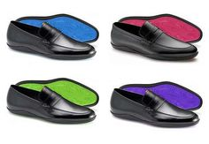 Color-Spectrum SolesL Harry's of London. Love these.