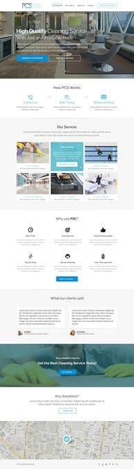 Create the perfect website for my cleaning company. by Clean Imagination