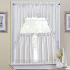 Hanna kitchen curtains found at jcpenney bathroom pinterest curtains kitchen curtains - Jc penny kitchen curtains ...