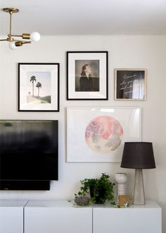 TV art wall