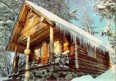 Build a Log Cabin, Alone in the Wilderness