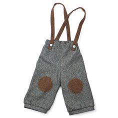 Leather knee patches on boys pants Little Boy Outfits, Baby Boy Outfits, Kids Outfits, Man Pants, Boys Pants, Fashion Moda, Boy Fashion, Salopette Short, Patch Pants