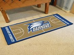 Georgia Southern University Basketball Court Runner 30x72