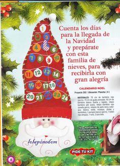 revistas de manualidades gratis Christmas Stockings, Christmas Tree, Christmas Ornaments, Christmas Ideas, Bonde, Christmas Illustration, Advent, Holiday Decor, Chocolates