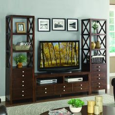 You'll love the Polson Entertainment Center at Wayfair - Great Deals on all Furniture  products with Free Shipping on most stuff, even the big stuff.