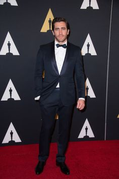 Jake Gyllenhaal attends the 6th Annual Governors Awards in The Ray Dolby Ballroom at Hollywood & Highland Center® in Hollywood, CA, on Saturday, November 8, 2014.  See more photos here: http://www.redcarpetreporttv.com/2014/11/10/its-official-awards-season-has-started-the-academys-2014-governors-awards-honors-harry-belafonte-maureen-ohara-hayao-miyazaki-and-jean-claude-carriere-theacademy-governorsawards-photos/