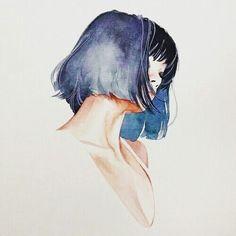 vẽ tóc ngắn - Google Search
