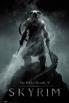Skyrim Dragonborn - Official Poster