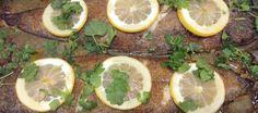 Linguados no Forno com Limão