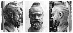 Regele DECEBAL a fost considerat SEMIZEU încă din timpul vieții Romanian People, Romanian Language, Transylvania Romania, Wood Carving Patterns, 1st Century, Eye Art, Roman Empire, Mythology, Tatoos
