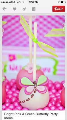 Butterfly pops
