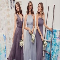 2018 Different Styles Chiffon Modern Formal Floor-Length Cheap Bridesmaid Dresses, WGY0123