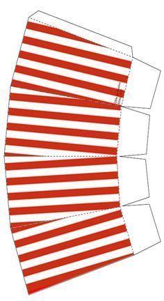 Image du Blog rubicamag.centerb Box Template Printable, Paper Box Template, Diy Gift Box, Diy Box, Diy Paper, Paper Crafts, Movie Themes, Paper Toys, Diy And Crafts