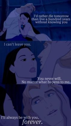 THEN SHE FUCKING LEAVES HIM IN POCAHONTAS 2 WHAT THE FUCK POCA WHY YOU GOTTA BE SO DAMN FICKLE • LOLOLOLOLOL.