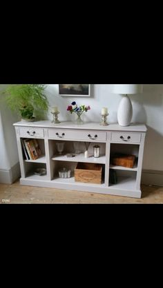 Sideboard finished in French Grey paint