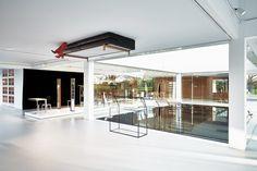 Glass Cube Molteni&C, designed by Ron Gilad