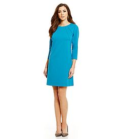 $159.00 - Antonio Melani Montana 34 Sleeve Ponte Dress #Dillards
