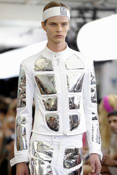 Future Fashion, Futuristic Style, Silver