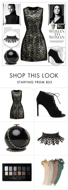 """""""Yes"""" by mayabee88 ❤ liked on Polyvore featuring Roberto Cavalli, Yves Saint Laurent, Amrita Singh, Maybelline and Gucci"""
