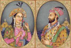 Mumtaz Mahal and Shah Jahan