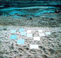 """Sixth Mirror Displacement, from Yucatan Mirror Displacements (1-9),"" by Robert Smithson, 1969"