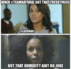 Yo the struggle really is real during the summer time and working out!!! #TeamNatural