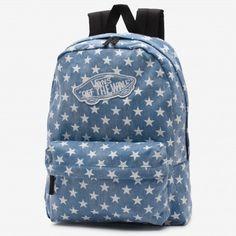 2bf50532691 Mochila Realm Denim Backpack, Vans Backpack Girls, Backpack Bags, Fashion  Backpack, Floral