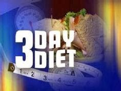 Fat To Fit Secrets: 3 Day Diet May Be The Healthiest Diet!