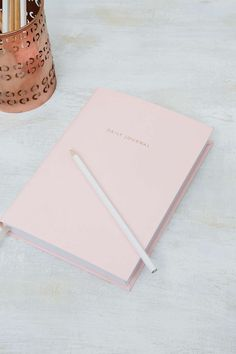 UrbanOutfitters.com: Pale Pink Daily Journal