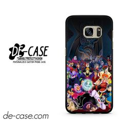 All Villains Disney DEAL-636 Samsung Phonecase Cover For Samsung Galaxy S7 / S7 Edge