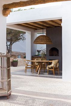 COCOON Ibiza villa terrace bycocoon.com | natural materials | exterior design | modern warm terrace design | lounge | villa design | hotel design | wellness design | luxury design products for easy living by Dutch Designer Brand COCOON #HotelExteriorDesign