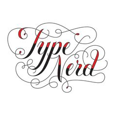 What is there to explain? Show your love for fonts, handlettering, and all things typography with this Type Nerd, expertly lettered by the master herself, Jessica Hische.
