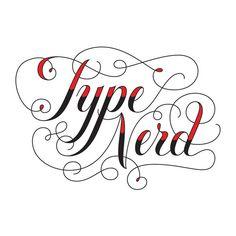 """Type Nerd"" temporary tattoo designed by Jessica Hische http://tattly.com"