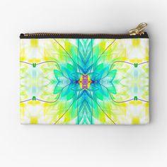 Zipper Bags, Zipper Pouch, School Pens, Colorful Candy, Pencil Bags, Pen Art, Small Bags, Pouches, Blue Flowers