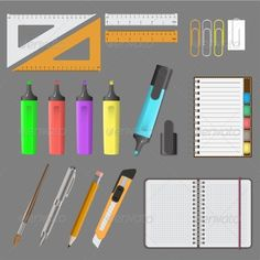 Vector Illustration of Big Office Set  #GraphicRiver         Vector illustration of big office set on grey background     Created: 19September13 GraphicsFilesIncluded: JPGImage #VectorEPS #AIIllustrator Layered: No MinimumAdobeCSVersion: CS Tags: accessories #background #black #document #draw #drawing #education #eraser #icon #illustration #ink #instrument #isolated #metallic #office #paper #pen #pencil #school #set #sign #signature #sketch #stationery #symbol #tool #vector #white #work…