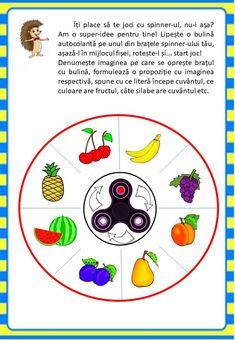 Învățăm jucându-ne: Fructele - Logorici Thing 1, Preschool Activities, Education, Puzzle, Printables, Stuff Stuff, 1st Grades, Day Care, Fruit